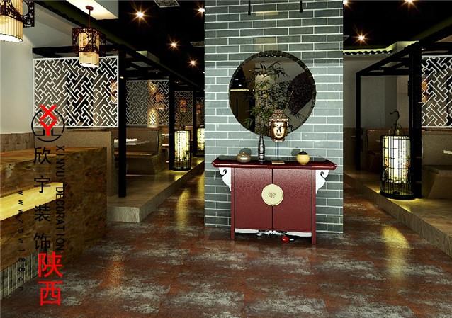 西安餐厅装修设计